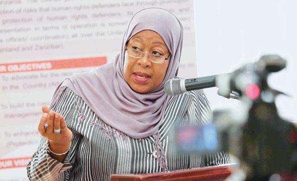 Samia Suluhu Hassan - Tansanias erste weibliche Vizepräsidentin