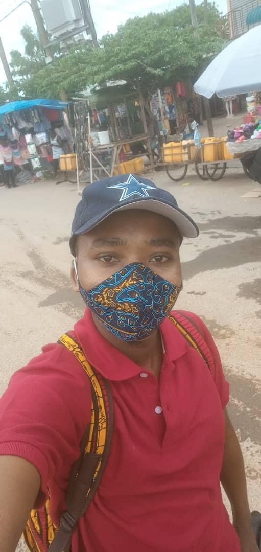 Kitenge Maske