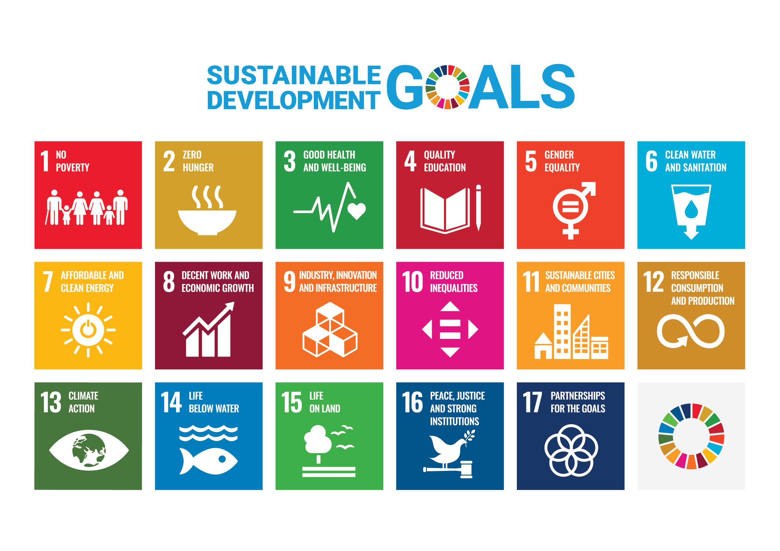 Die 17 SDG-Ziele